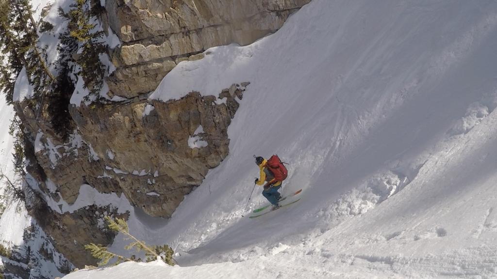 Ben White skiing Utah