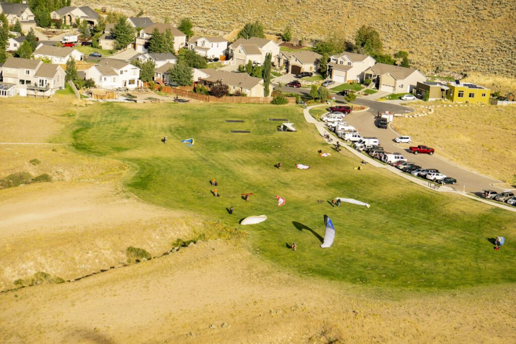 North Side Paragliding Flight Park