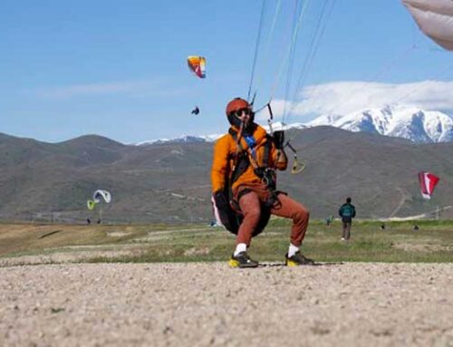 Paragliding Kiting Posture