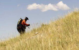 Preflight paragliding at Inspo