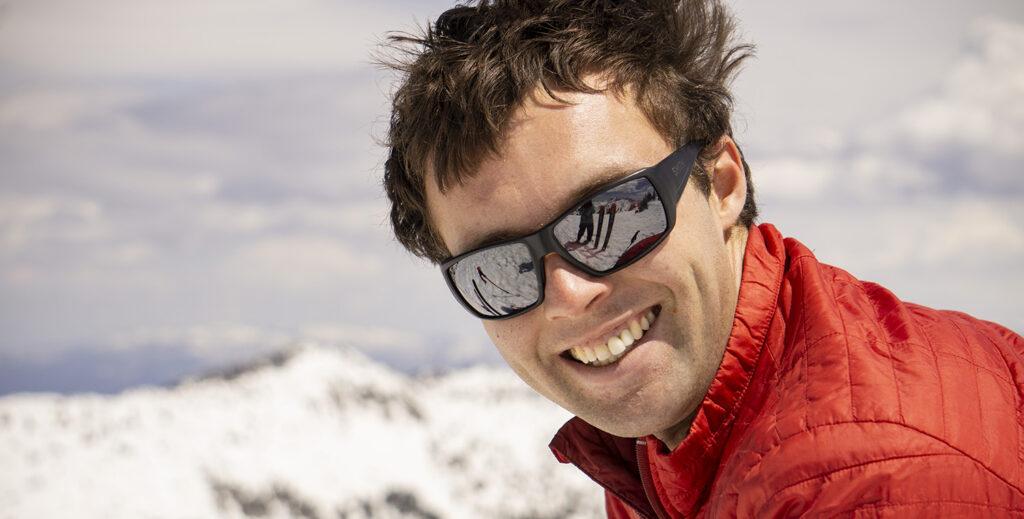 Ben White Paragliding Skiing