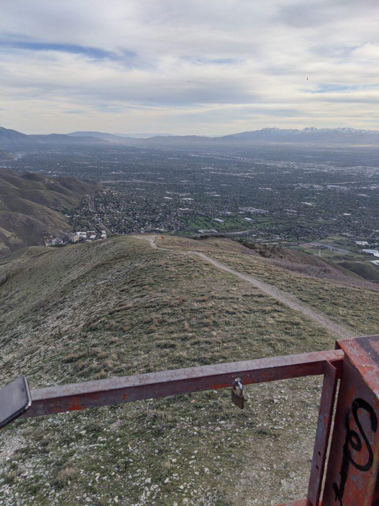 Mt Wire Utah summit view