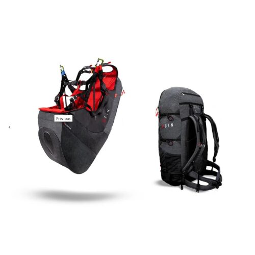 GIN Verso Paraglider Harness 3 8