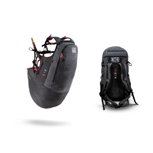 GIN Verso Paraglider Harness 3 7